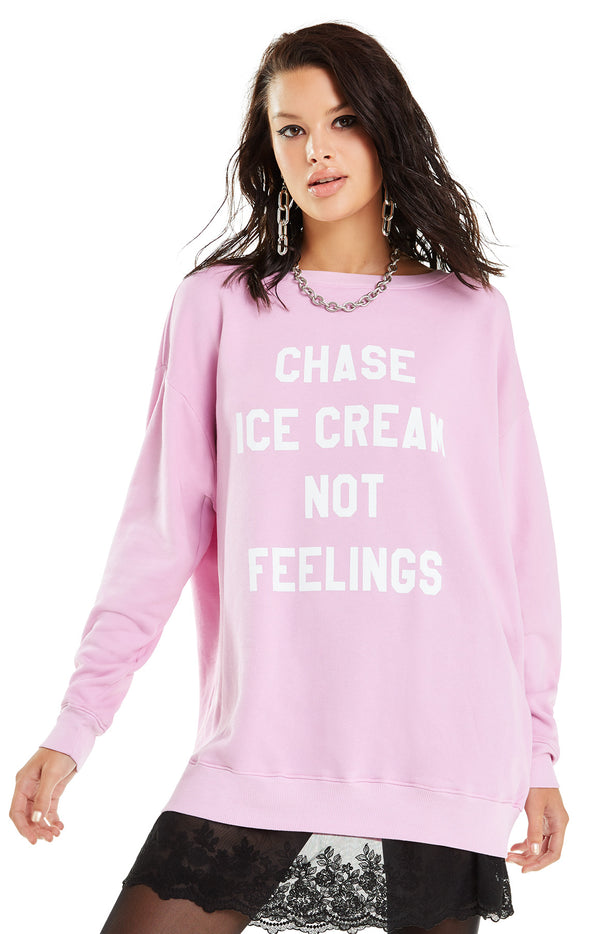 Chase Ice Cream Roadtrip Sweater | Orchid