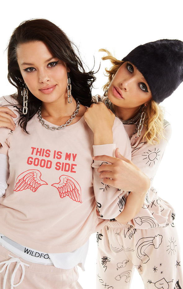Good Side Baby Tee | Quartz