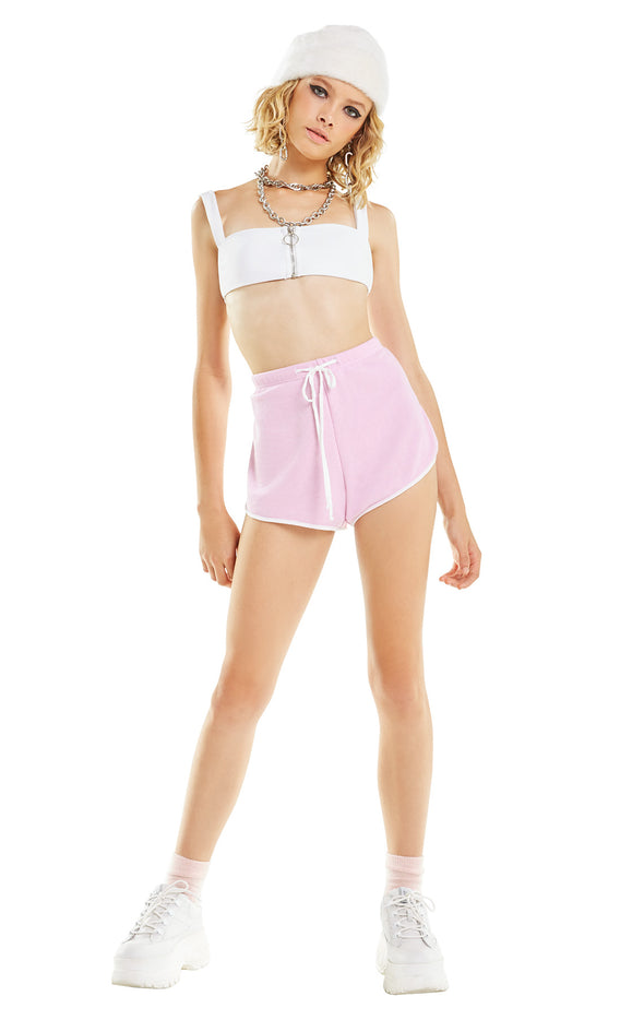 Pink Pool Party Shorts