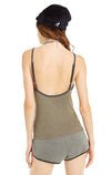 Day Napper Honey Tank | Forest/Clean Black