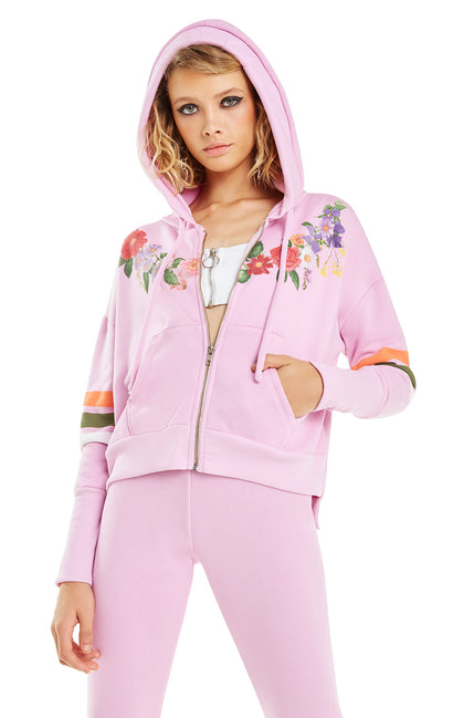 Get Lei'd Theo Hoodie | Orchid