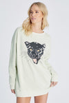 Panther Roadtrip Sweatshirt | Aloe