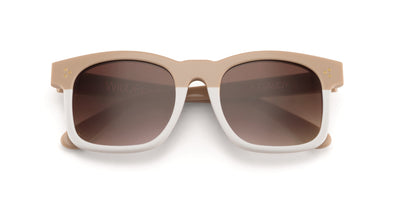 Gaudy Sunglasses | Cream White