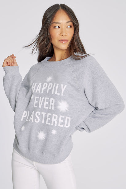 Happily Ever Plastered Sommers Sweatshirt | Heather