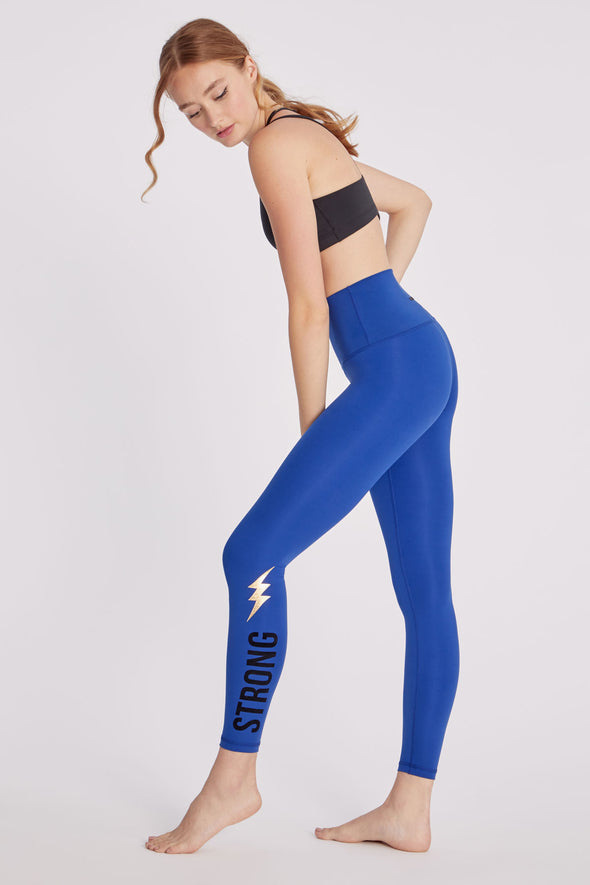 7/8 Strong Legging | Digital Blue