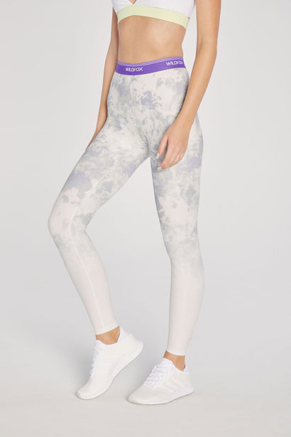 High Waisted Ombre 7/8 Legging | Floral Ombre