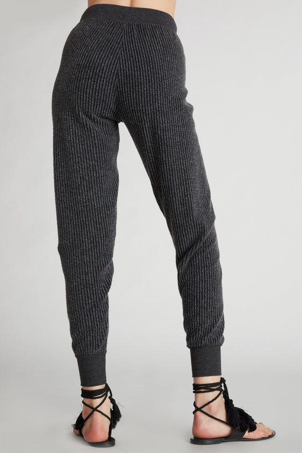 Ribbed Jack Jogger  | Clean Black