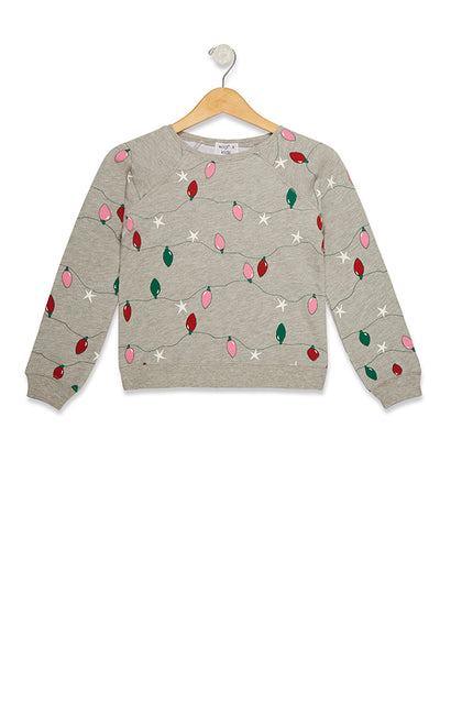 Kids Twinkle Lights Sommers Sweatshirt