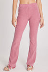 Brushed Rib Cora Pant | Ruby