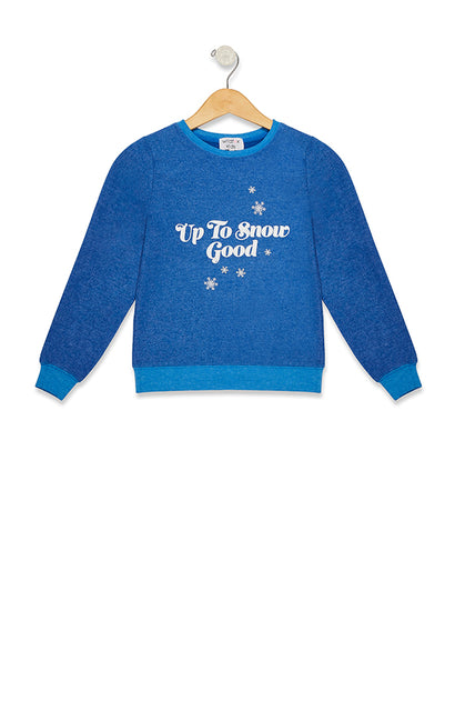 Kids Up to Snow Good Baggy Beach Jumper