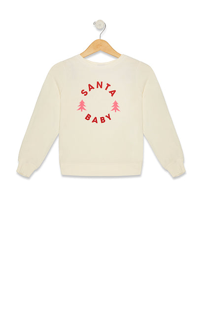 Santa Baby Baggy Beach Jumper