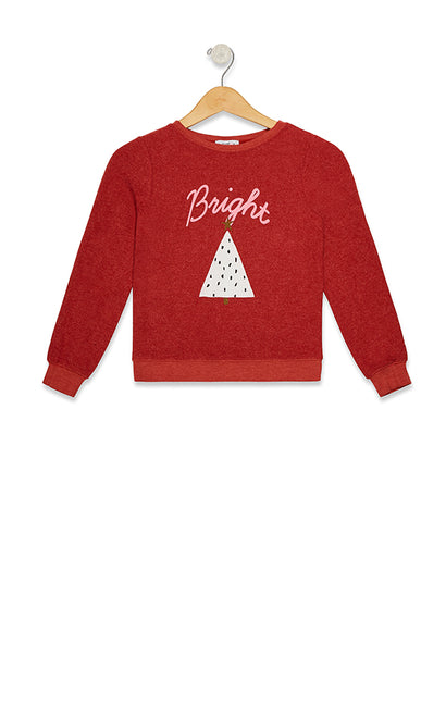 Kids Bright Baggy Beach Jumper