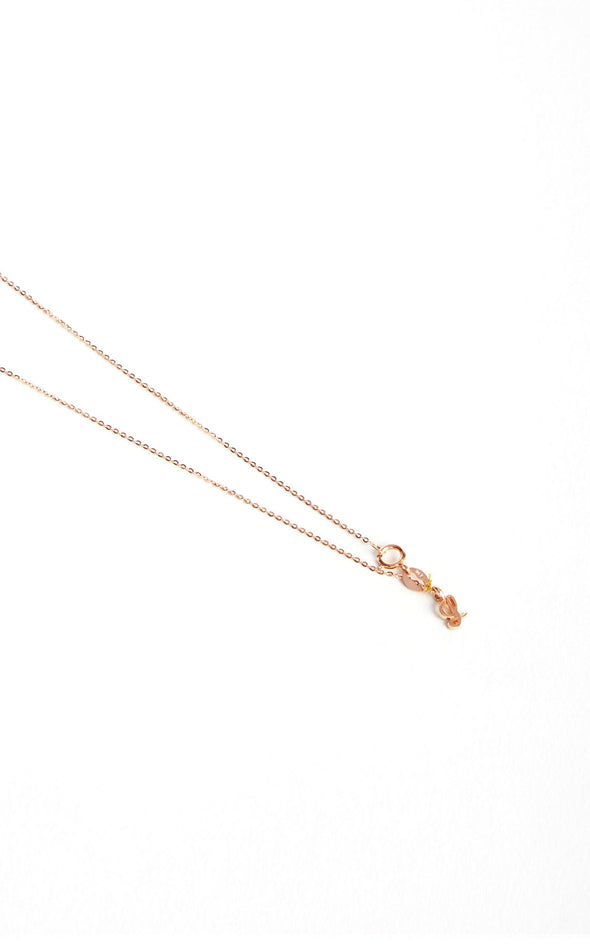 Leenabell 14K Rose Open Heart Necklace | RG