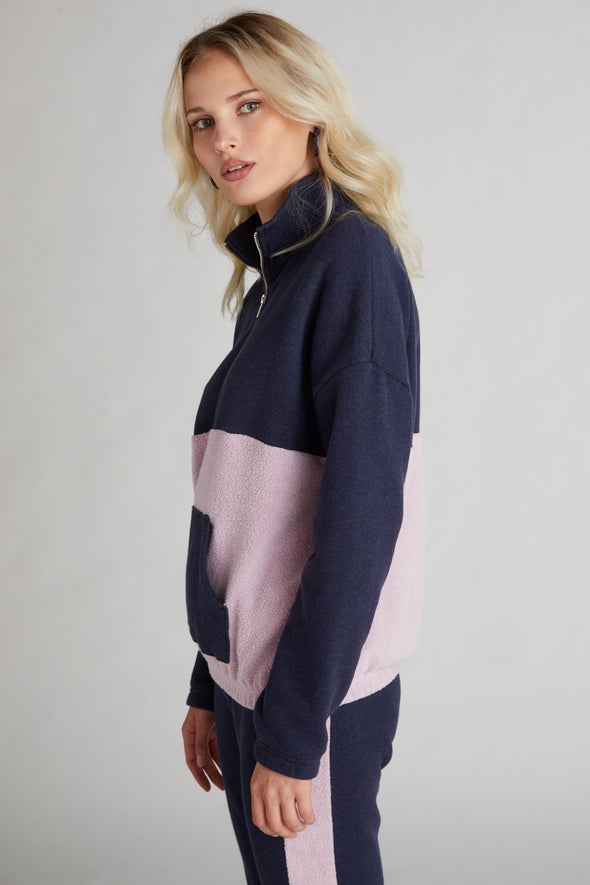 Lea Sweatshirt  | Oxford/Mauve Shadow