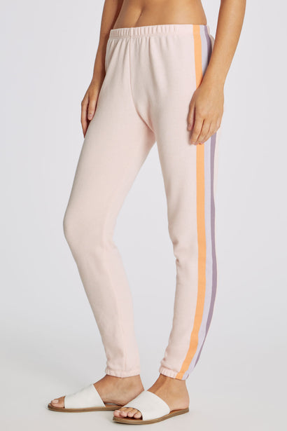 Grapefruit Stripes Knox Pants | Pink Salt