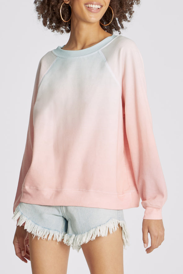 Guava Ombre Sommers Sweater | Multi Colored