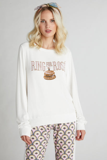 Ring for Rosé Baggy Beach Jumper