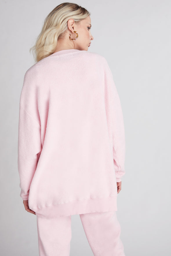 Roadtrip Sweatshirt  | Carnation