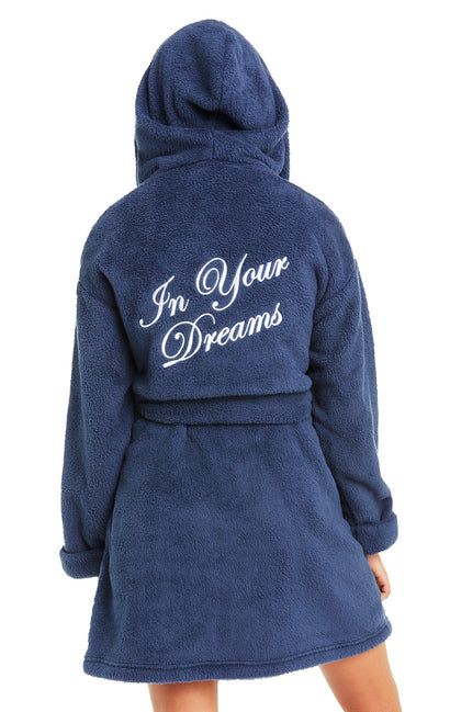 In Your Dreams Hooded Robe | Oxford