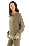 Baggy Beach Jumper | Forest