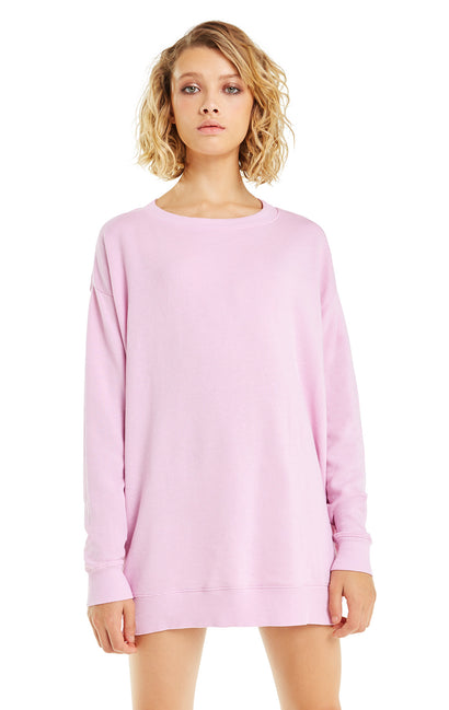 French Terry Roadtrip Sweater | Orchid