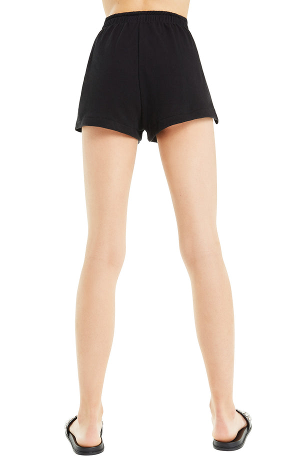 Golden Shorts | Jet Black