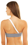 Ana Top | Black Gingham/White