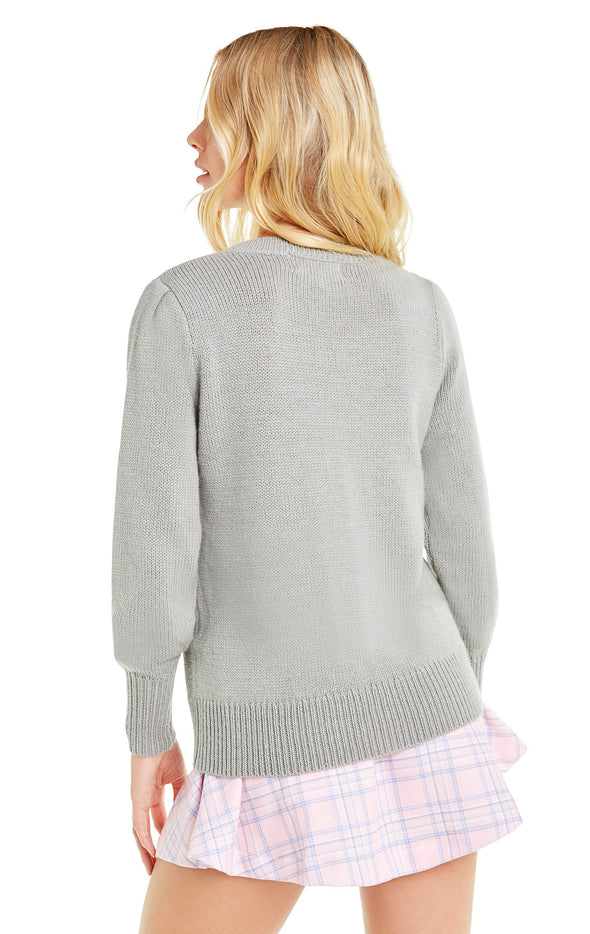 Diet Coke Lou Sweater | Gray Cloud