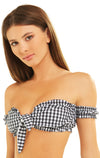 Alice Top | Black Gingham