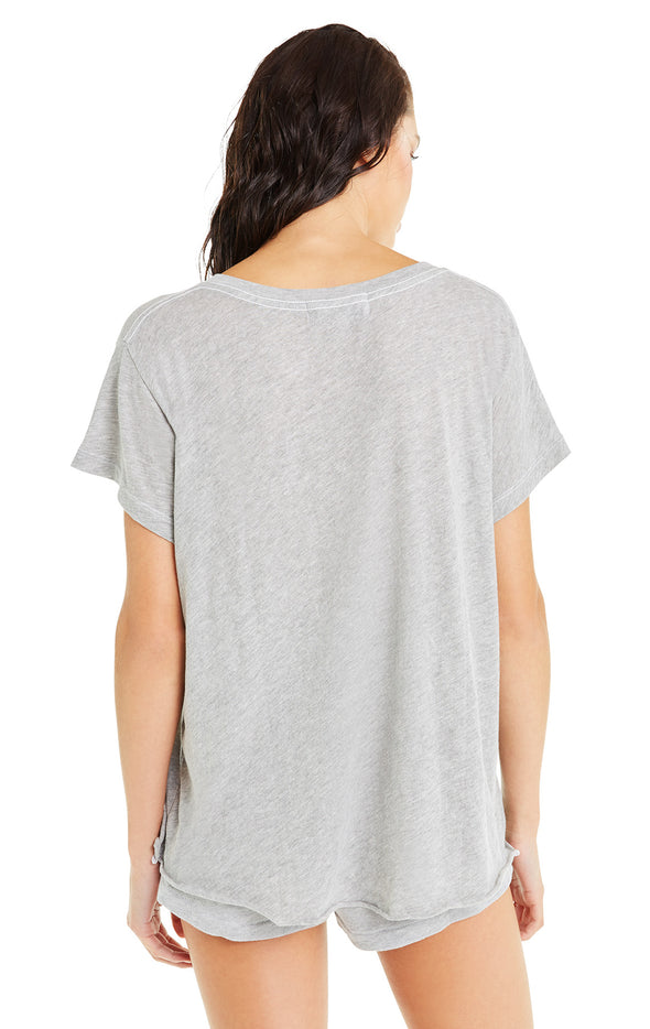 Romeo V-Neck Tee | Heather