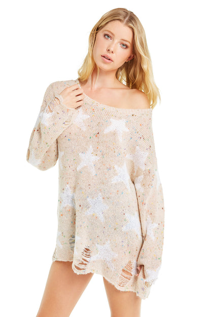 Seeing Stars Lennon Sweater | Vintage Lace