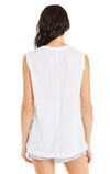 Vintage Muscle Tank | Clean White