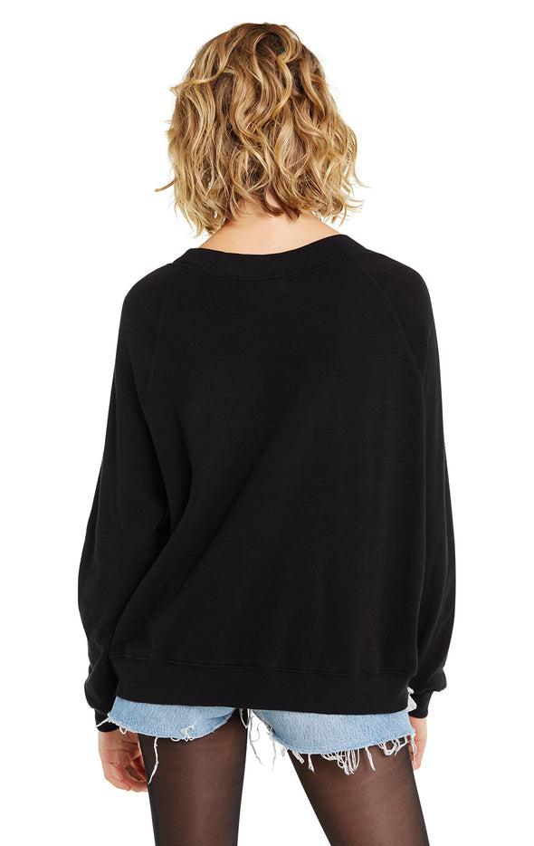 Hot & Ready Sommers Sweater | Clean Black