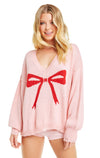 Gift Bow Clement Sweater | Romantic