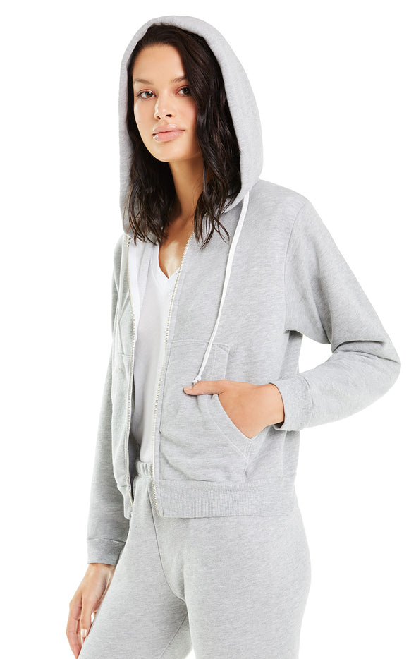 Regan Zip Hoodie | Heather Terry