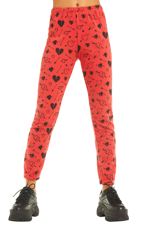 Cupid Strikes Knox Pant | Scarlet