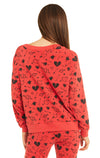 Cupid Strikes Sommers Sweater | Scarlet