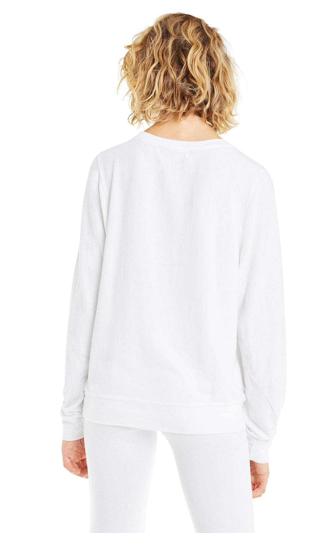 25c9cfd583 Women's Baggy Beach Jumper White Oversized Pullover – Wildfox Couture