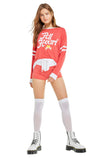 All Heart Moonlight Sweater | Scarlet Clean White