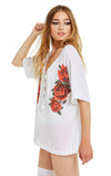 Lovely Roses Maxwell Tee | Clean White