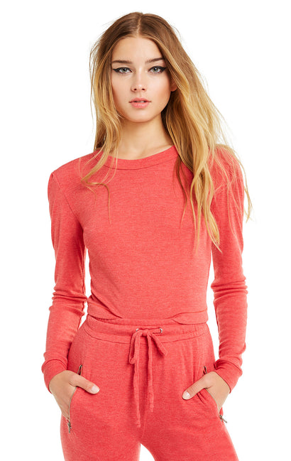 Mia Long Sleeve | Scarlet