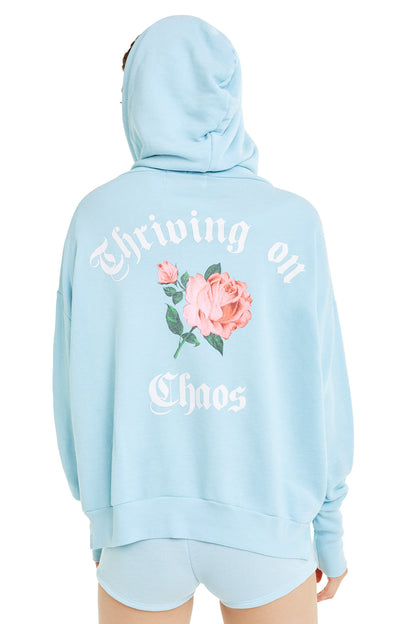 Thriving on Chaos Theo Hoodie | Honolulu Blue
