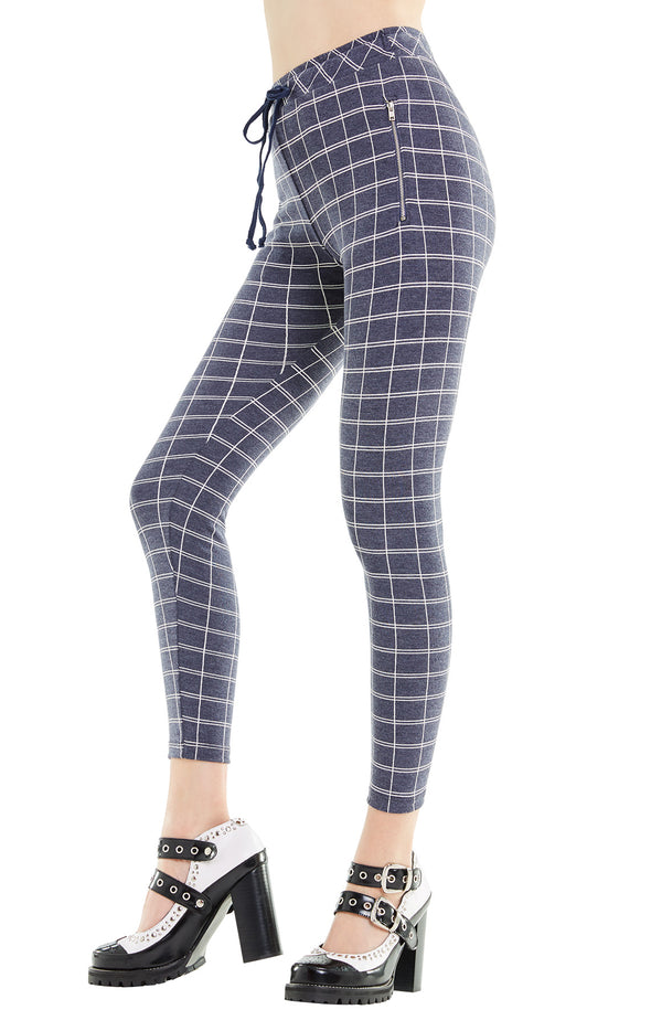 Simple Plaid Demi Legging | Oxford