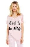 Cool to Be Kind Romeo V-Neck Tee | Romantic