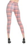 Sweetheart Plaid Demi Leggings | Multi
