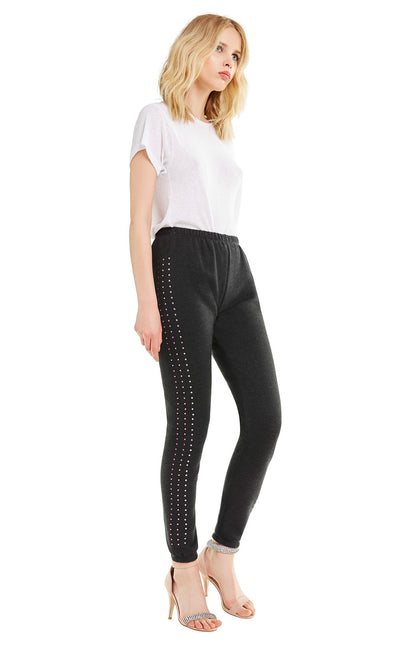 Track Glitz Knox Pants | Clean Black