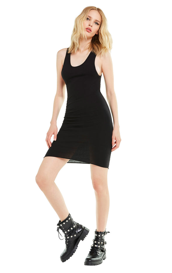 Jo Dress | Clean Black