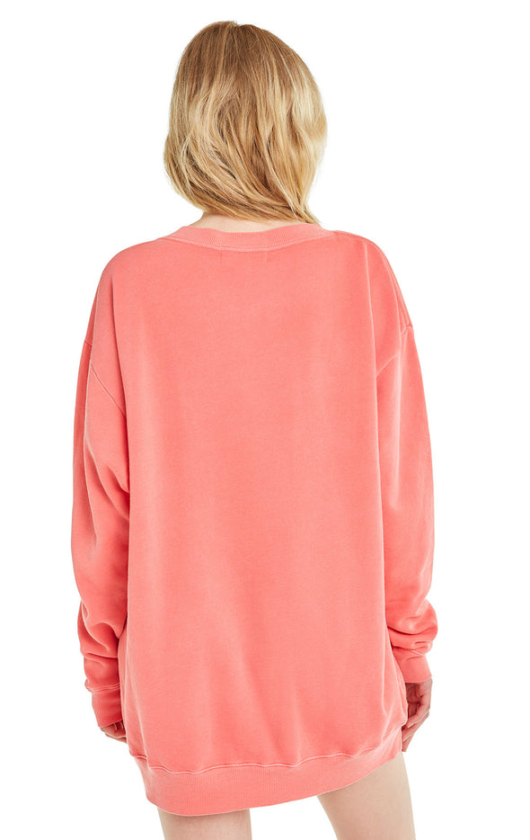 Love Bound Roadtrip Sweater | Pigment Scarlet