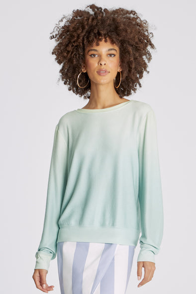 Shore Ombre Baggy Beach Jumper | Multi Colored