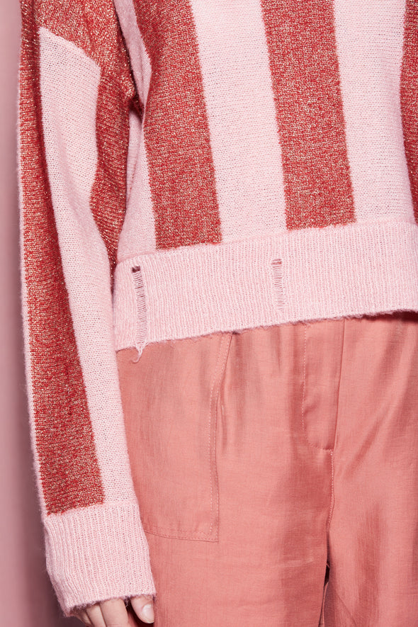 Sweetheart Stripes Giselda Sweater